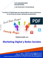 Folleto Diplomado Marketing Digital