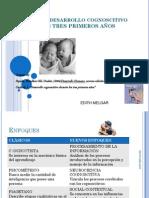 Desarrollo Cognoscitivo  tres  primeros años