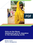 Girls on the Move Temin and Montgomery Presentation