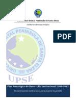 Plan Estratégico Universidad Estatal Península de Santa Elena