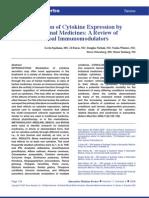 Modulation of Cytokine Expression_herbals