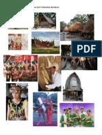 Gambar Beberapa Suku Dan Rumah Adat Trdisional Indonesia
