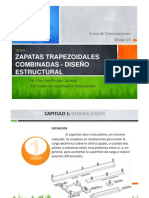 (Zapatas Trapezoidales combinadas - Diseño Estructural).pdf