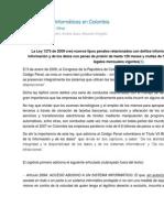Ley de Delitos Informáticos en Colombia