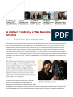 A Certain Tendency of the Documentary Cinema _ ReelPolitik