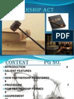 Partnership Act 1932 New Slides