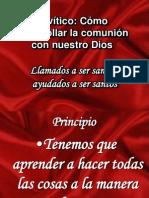 Levítico santidad practica II IBE Callao