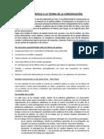 Aportes de P. F. Lazarsfeld y F. Saussure a La Teoria de La Comunicacion