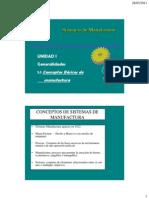 1.1 y 1.2 Desarrollo de Los Sistemas de Manufactura