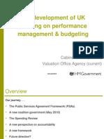 The development of UK thinking on performance management & budgeting