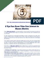 8 Tips para hacer video para internet de manera efectiva.pdf