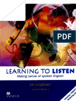 Learning to Listen 1 SB