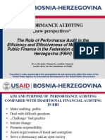 """PERFORMANCE AUDITING """"new perspectives"""""""