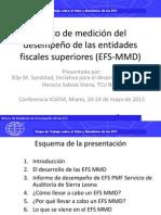 Marco de medición del desempeño de las entidades fiscales superiores (EFS-MMD)
