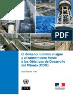 CEPAL - El Derecho Humano Al Agua