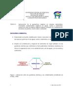 Aplicaciones de la geoquímica orgánica en estudios ambientales.