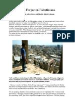 The Forgotten Palestinians