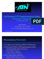 Air-Ground ATN Implementation Status