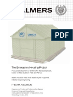 Emergency Housing Project 2012