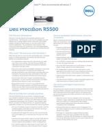 Dell Precision R5500 Server Spec Sheet