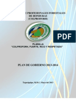 Plan de Gobierno Jdc 2013-2014