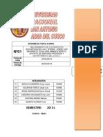 1er Informe Construcciones II
