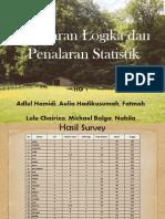 Ppt Mpkt b Penalaran Logika Statistika