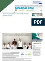 09-05-13 ANUNCIAN APOYOS PARA QUE POLICIAS DE 17 ENTIDADES OBTENGAN VIVIENDA
