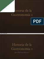 La gastronomía durante el Renacimiento