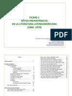 fichas mitos prehispánicos en literatura latinoamericana
