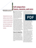 Soil Compaction-Causes,Concerns and Cures