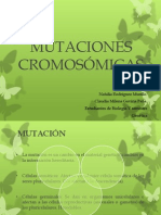 Mutaciones Cromosómicas