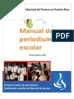 Manual de Periodismo Escolar (Tercera edición)