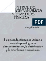 Control de Microorganismos Por Medios Fisicos