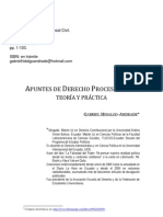 Apuntes de Derecho Procesal Civil. Teoría y práctica