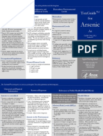 ATSDR Tox Guide for Arsenic (2007)