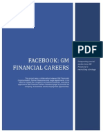 GM Financial Facebook Presentation and Handbook