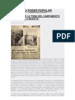 A 42 AÑOS DE LA TOMA DEL CAMPAMENTO LENIN (Pobl. Diego Portales) - Colectivo poder popular