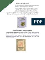 Que Es La Biblia Poliglota
