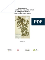 IMO Monographs Caucasus Wild Plants PLANTS OF THE CAUCASUS
