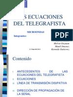 ECUACIONES TELEGRAFICAS