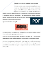 Control de Motores de CD Con El Integrado l293b o l293d