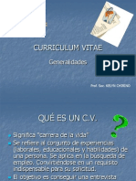 CURRICULUM VITAE PRESENTACION.ppt