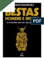 Bestas Homens e Deuses Ferdinand Ossendowski