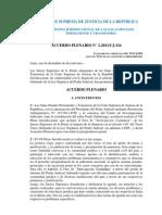 Acuerdo Plenario Nº 4-2011-CJ-116 prescripcion
