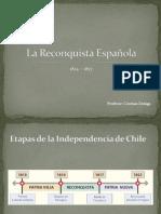 6º LA RECONQUISTA ESPAÑOLA