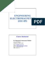 Lecture 1:electromagnetics