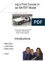 Developing a First Course in the New Nate f Model