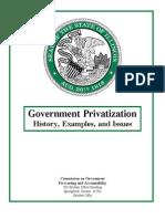 2006Gov Privatization Rprt