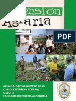 Historia de la Extensión Agraria en el Perú